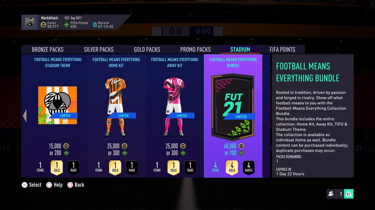 EA is selling FIFA 21 cosmetics outside loot boxes for the firsttime